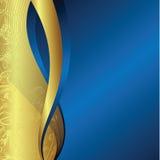 Holiday background 1-2. Illustration of golden design background Stock Photos