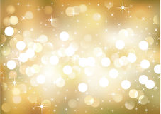 Holiday background. Vector background defocused lights, no size limit. proportion of A4 format horizontal Stock Image
