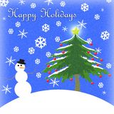 Holiday Background stock image