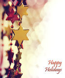 Holiday Background. With copy space Royalty Free Stock Images