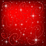Holiday background. Red Background with a holiday theme to it vector illustration