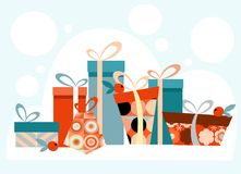 Holiday background. Beautiful background for greeting cards etc Stock Image