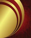 Holiday background. Illustration of golden design background Stock Images