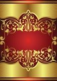 Holiday background. Illustration of golden design background Royalty Free Stock Photos