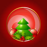Holiday background. Beautiful christmas festival holiday background Stock Photos