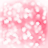 Holiday background with blurred bokeh lights Royalty Free Stock Photo