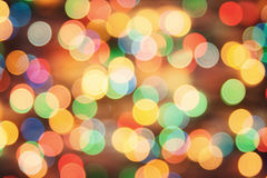 Holiday background blurry lights Royalty Free Stock Image