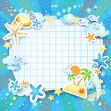 Holiday background with bubble Stock Photography