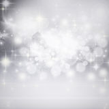 holiday background of Christmas lights Stock Images