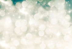 holiday background of Christmas lights Royalty Free Stock Photos