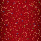 Holiday background of the circles and bright. Vector holiday background of the circles and bright Stock Photos