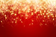 Holiday background. Fireworks and bokeh in New Year eve with copy space. Abstract holiday background Stock Photos