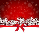Holiday background greeting card. Snowflakes gift holiday background greeting card Stock Image