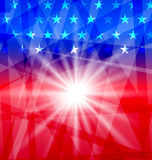 Holiday background for Independence Day Stock Image