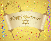 Holiday background of jewish passover. Stock Image