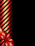 Holiday background with ribbon border Royalty Free Stock Photography