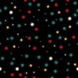 Holiday background, seamless pattern with stars. Vector illustration. Eps 10 vector illustration