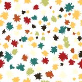 Holiday background, seamless pattern with stars. Vector illustration. Eps 10 royalty free illustration