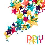 Holiday background with shiny colored celebration Royalty Free Stock Images