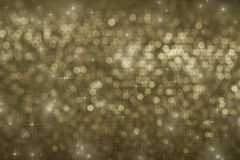 Holiday background with sparkling lights Stock Images