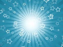 Holiday background with stars Stock Images