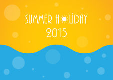 Holiday background. Summer holiday background with special dotted design, Vector illustration, eps10 vector illustration