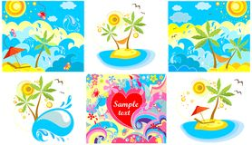 Holiday backgrounds Royalty Free Stock Photography