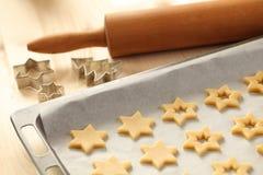 Holiday baking Stock Images