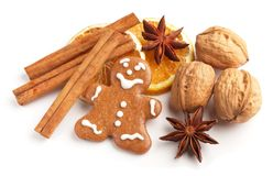 Holiday baking Royalty Free Stock Photos