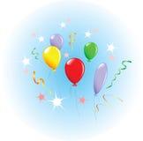 Holiday balloons. Stock Photos