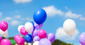 Holiday balloons Royalty Free Stock Photos