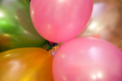 Holiday balloons Royalty Free Stock Photos
