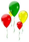 Holiday balloons Stock Photos