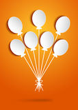 Holiday balloons Royalty Free Stock Images