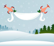 Holiday Banner stock illustration