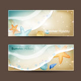 Holiday Banners vector illustration