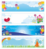Holiday banners. Colorful banners set with copyspace. To see similar design elements, please visit my gallery