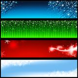 Holiday Banners royalty free illustration
