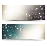 Holiday banners Royalty Free Stock Image