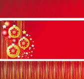 Holiday banners, frames, Japanese new year Stock Images