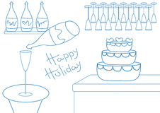 Holiday bar Stock Image