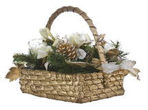 Holiday Basket Stock Image