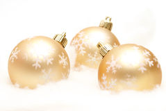 Holiday Baubles Stock Photo