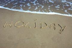 Holiday on beach Royalty Free Stock Photos