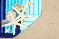 Holiday beach concept Royalty Free Stock Image