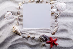 Holiday beach concept Royalty Free Stock Photos