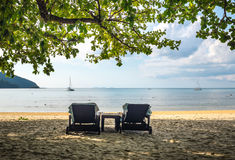 Holiday at the beach Royalty Free Stock Image