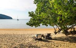 Holiday at the beach Stock Photo
