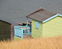 Holiday beach hut Stock Photography