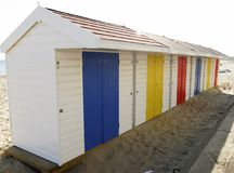 Holiday Beach huts Royalty Free Stock Image